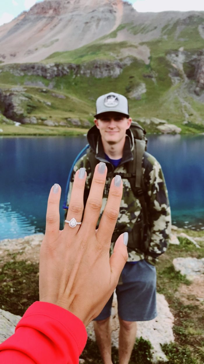 Marriage Proposal Ideas in Ice lakes