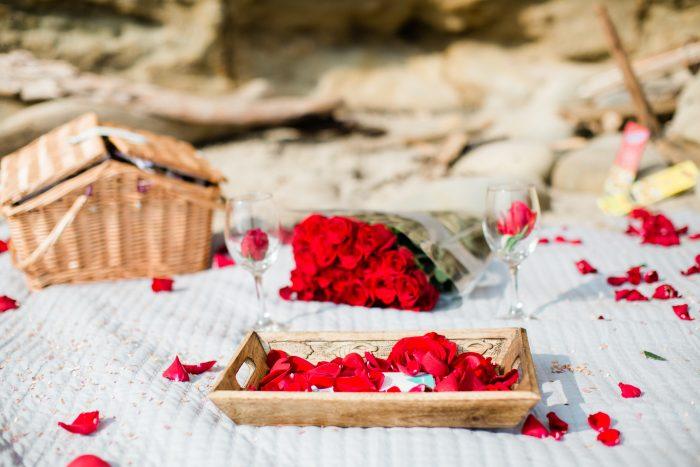 Wedding Proposal Ideas in Loon Point Beach