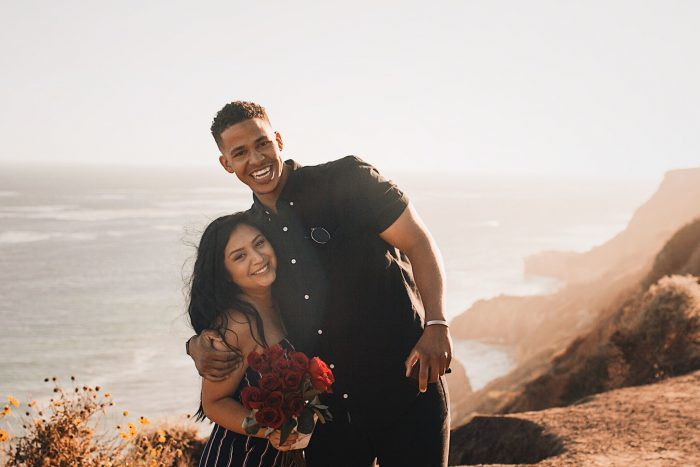 Alexis and Trenton's Engagement in El Matador Beach