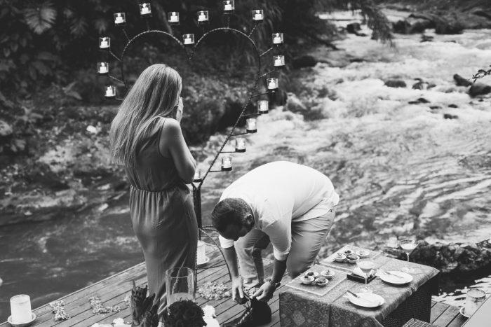 Andrew's Proposal in Ubud, Bali