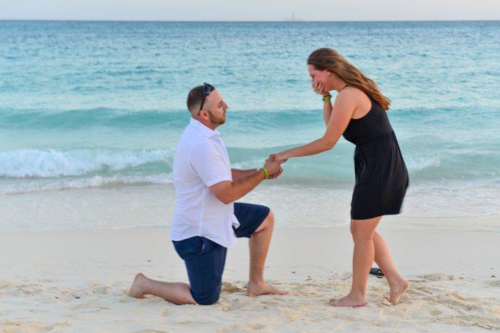 Jackie's Proposal in Aruba