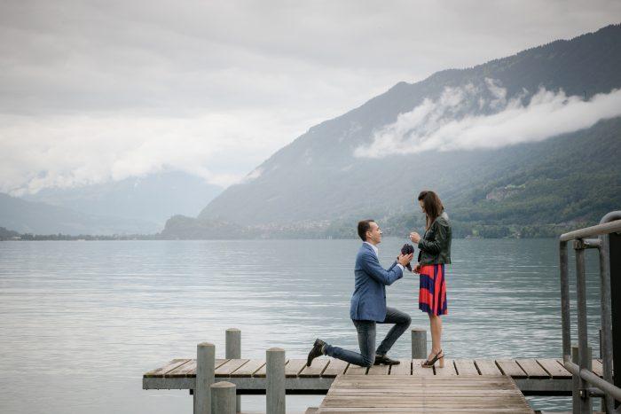 Alina's Proposal in Iseltwald - Switzerland