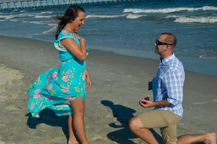 Marriage Proposal Ideas in Ocean Isle Beach