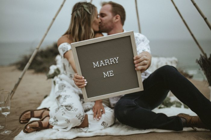 Where to Propose in Del Mar cliffs