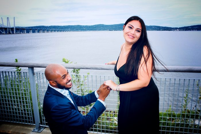 Wedding Proposal Ideas in Scenic Hudson RiverWalk Park at Tarrytown