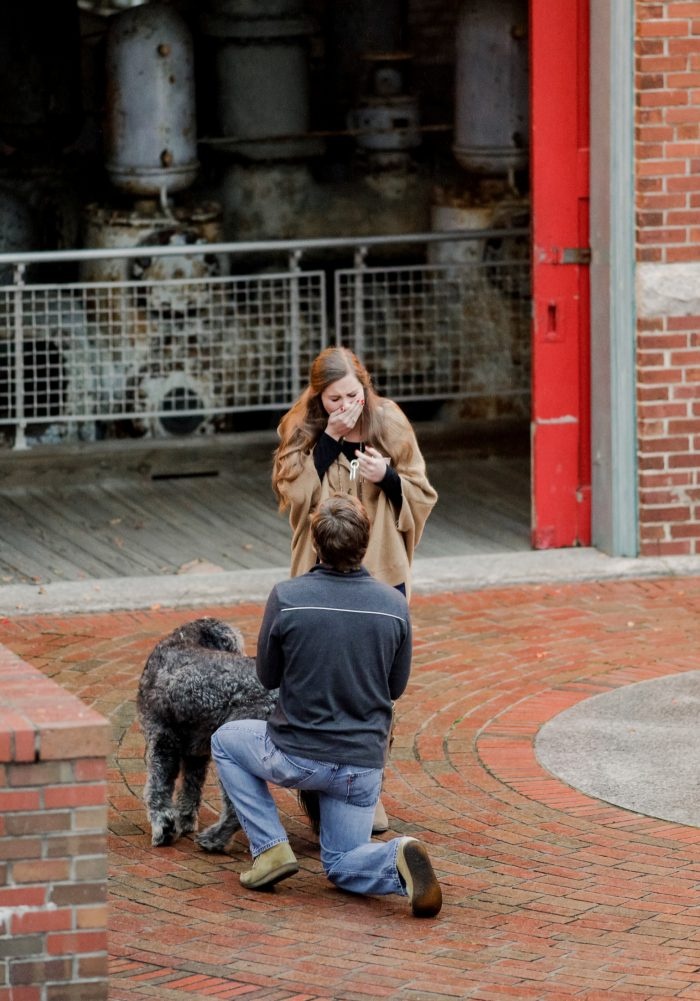 Where to Propose in The River Walk in Columbia South Carolina