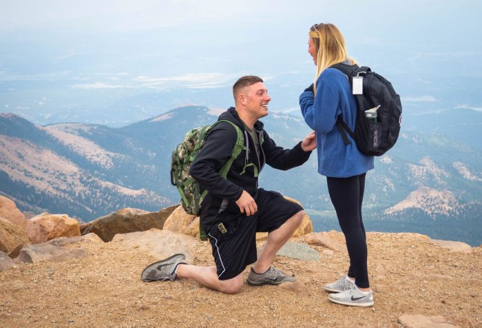 Where to Propose in Pike's Peak in Colorado Springs, CO