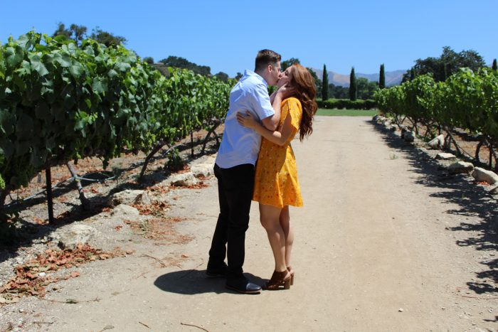 Marriage Proposal Ideas in Los Olivos, California