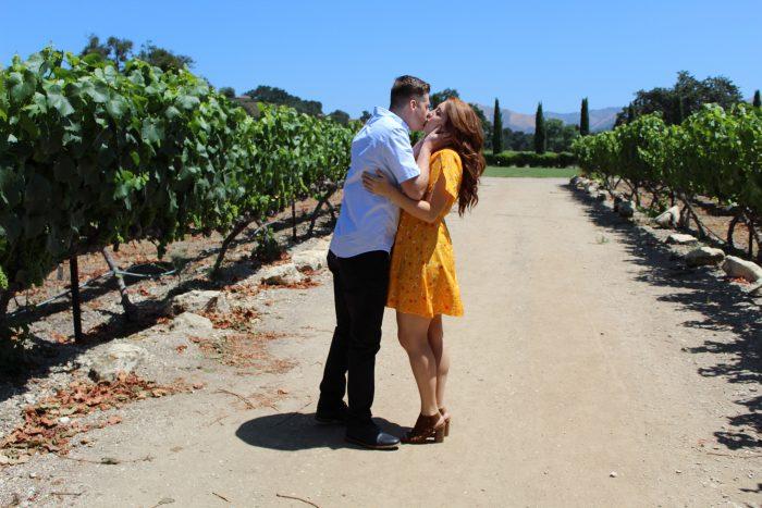 Marriage Proposal Ideas in Los Olivos, California