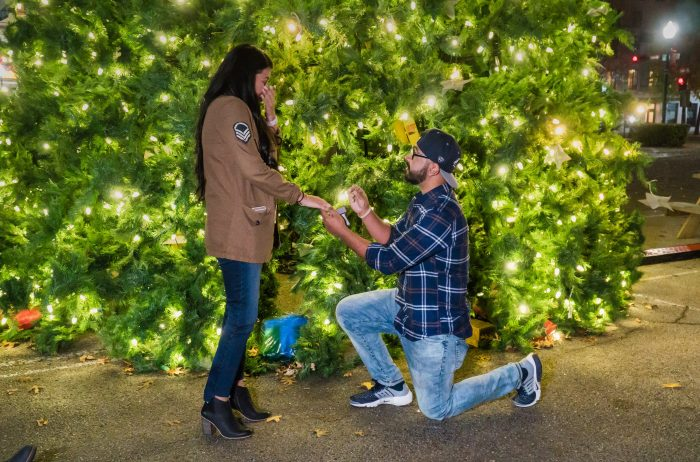 Wedding Proposal Ideas in Down Town Waco, Texas