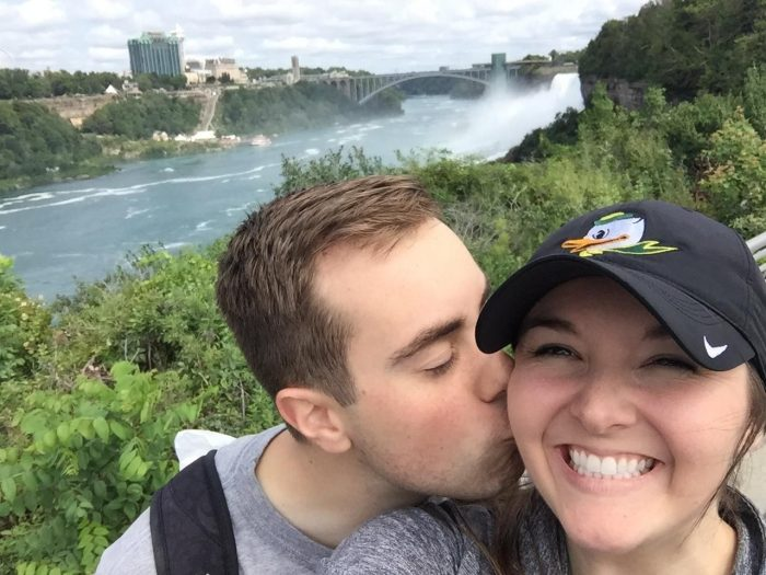 Lindsey's Proposal in Niagara Falls, USA