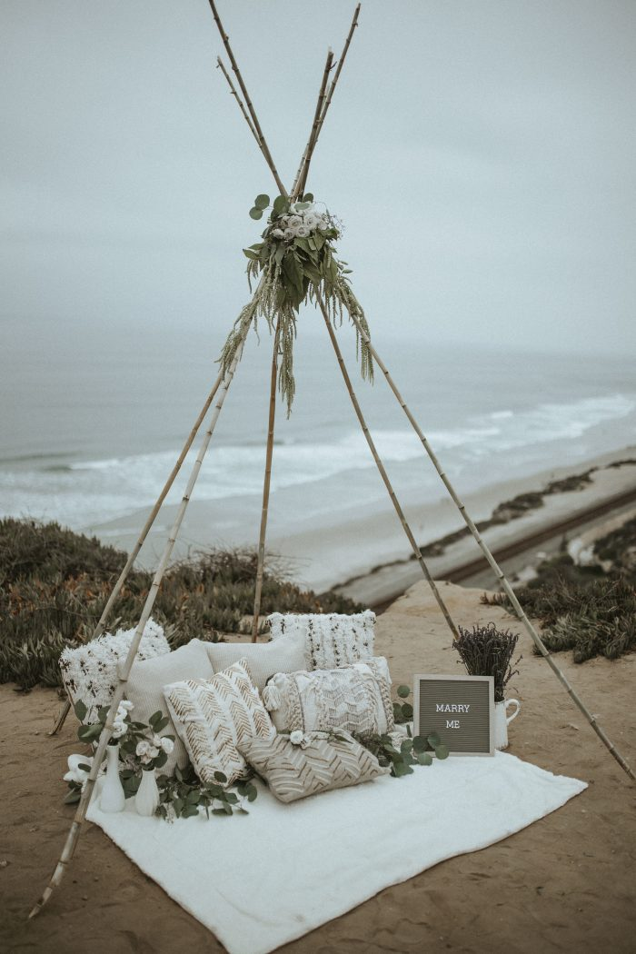 Wedding Proposal Ideas in Del Mar, California