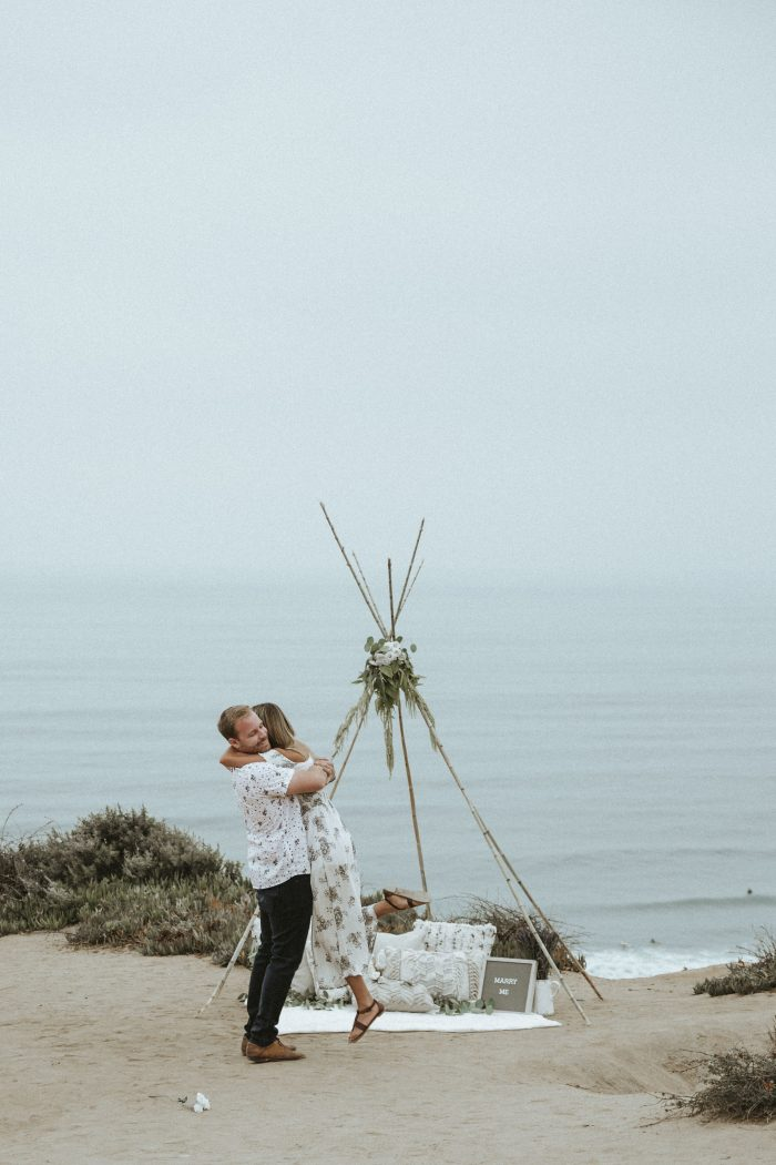 Allison's Proposal in Del Mar, California