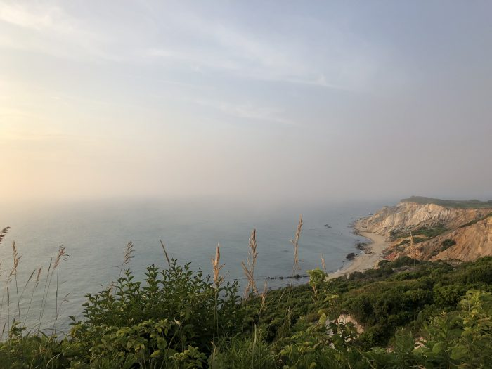 Where to Propose in Aquinnah Cliffs, Martha's Vineyard