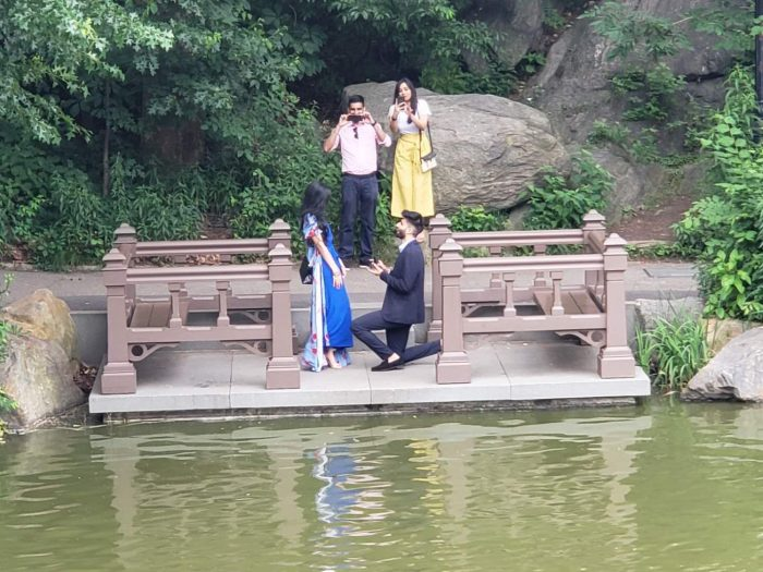 Where to Propose in Central Park, New York City
