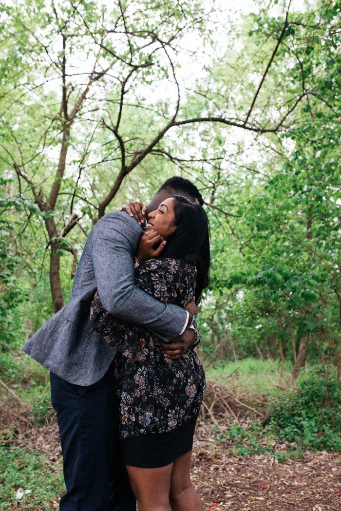 Anusha and Reavens's Engagement in Washington, DC