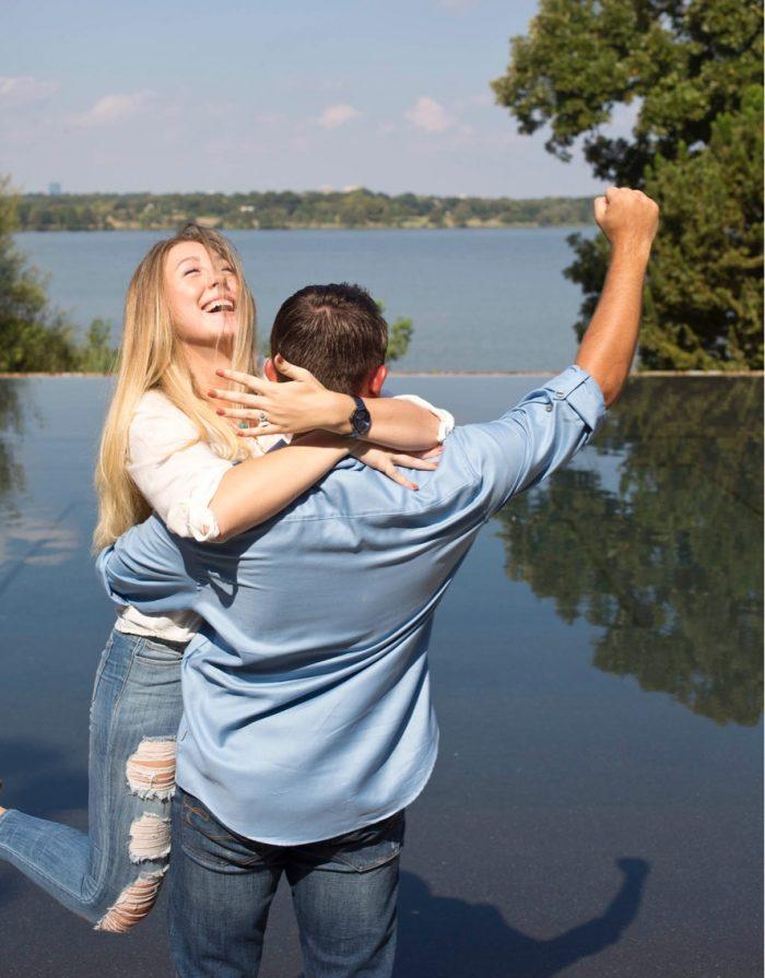 Engagement Proposal Ideas in Dallas Arboretum