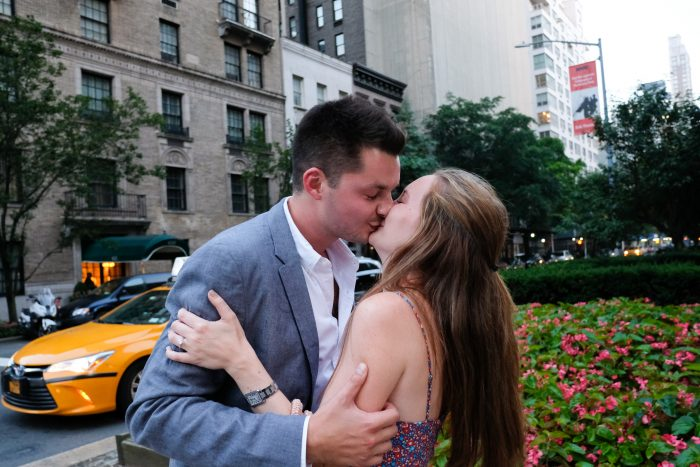 Mary Kate and Taylor's Engagement in Upper East Side NYC