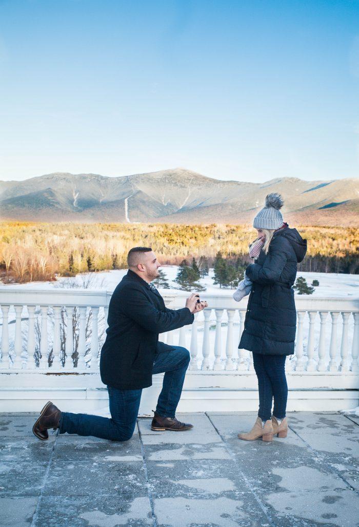 Marriage Proposal Ideas in Omni Mount Washington Resort