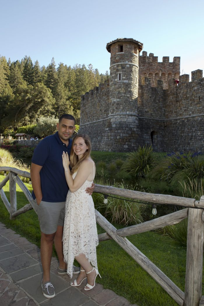 Engagement Proposal Ideas in Castello di Amorosa