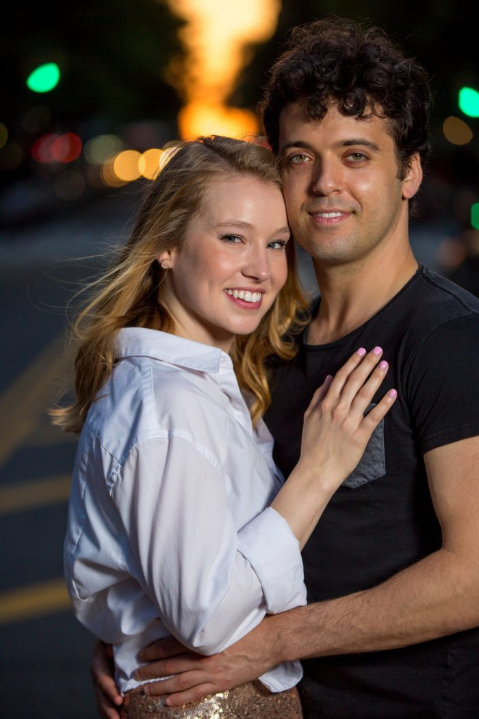 Kellie's Proposal in New York, NY