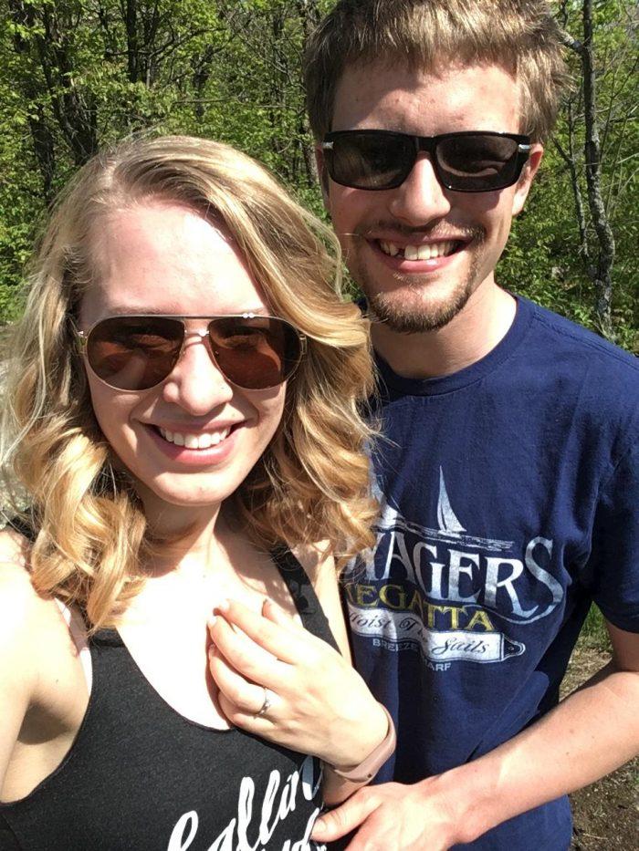 Marriage Proposal Ideas in King Mountain Trail, Gatineau Park