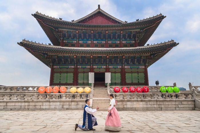 Proposal Ideas Seoul, South Korea