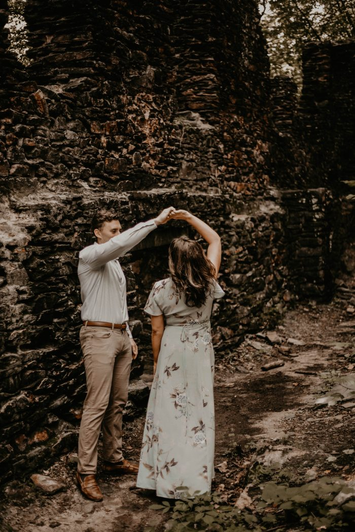 Where to Propose in Wolf Mountain Winery