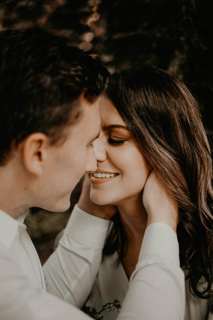 Kristen and Andrew's Engagement in Wolf Mountain Winery