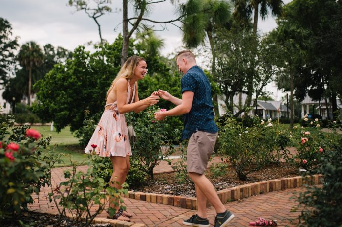 Trina's Proposal in Winter Park, Florida