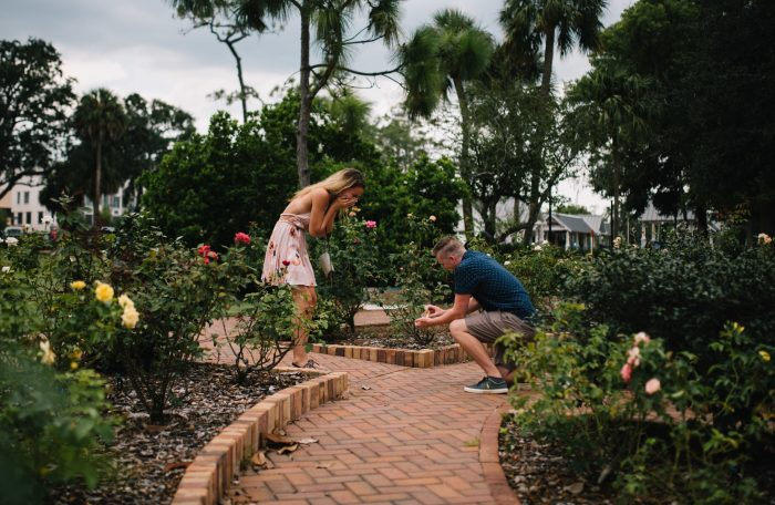Trina and Zachary's Engagement in Winter Park, Florida