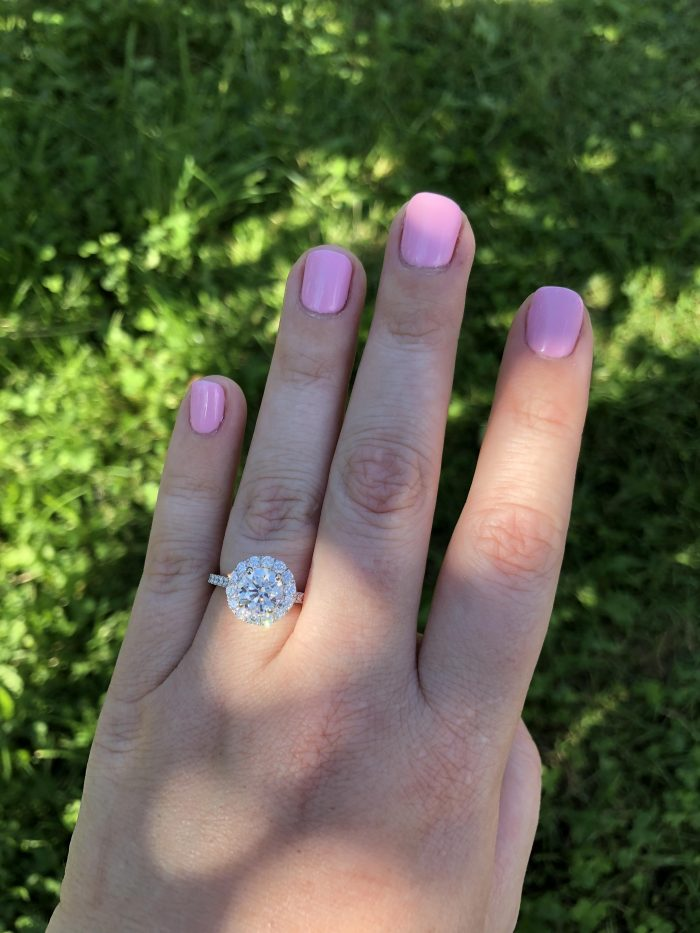 Marriage Proposal Ideas in Nashoba valley winery