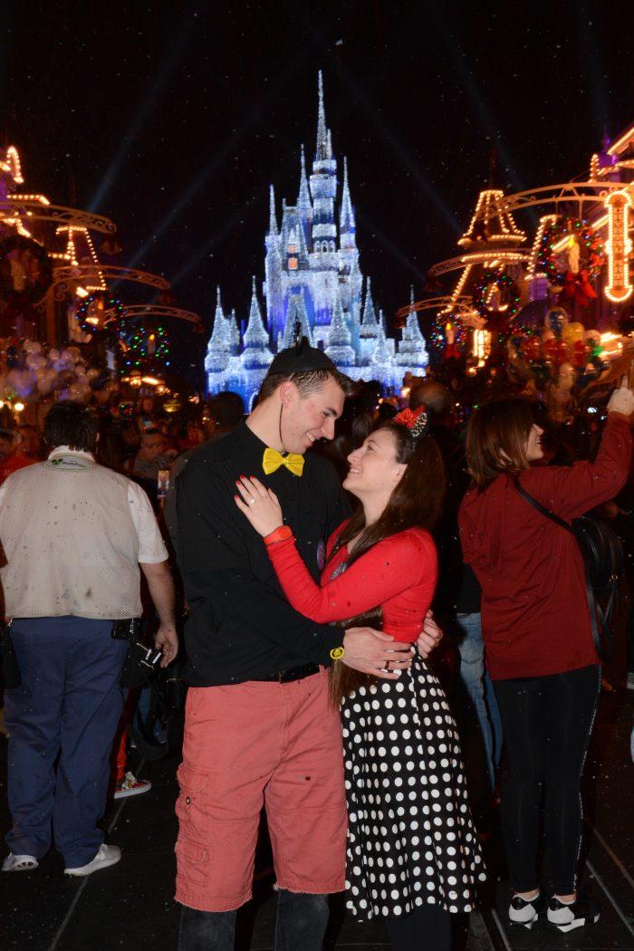 Melissa's Proposal in Magic Kingdom at Disney World