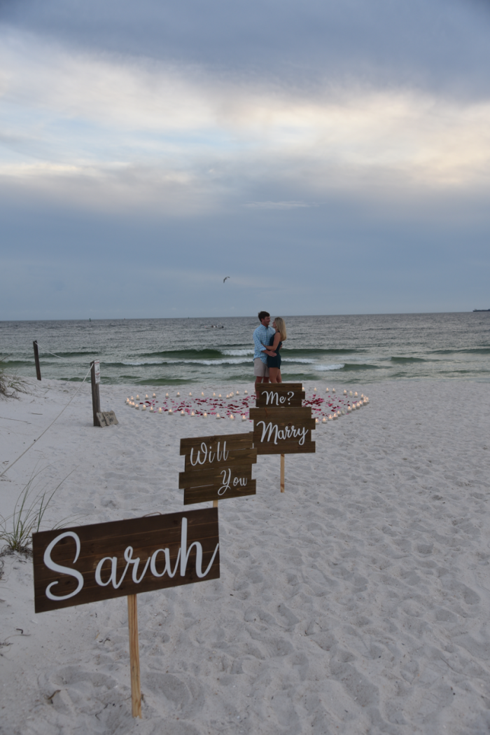Engagement Proposal Ideas in St. Andrews State Park