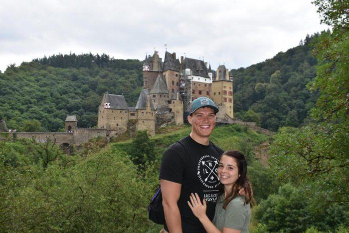 Engagement Proposal Ideas in Berg Eltz Castle, Germany