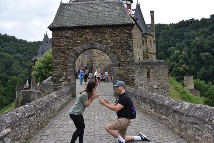 Wedding Proposal Ideas in Berg Eltz Castle, Germany