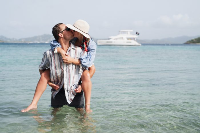 Engagement Proposal Ideas in Sandy Spit, British Virgin Islands