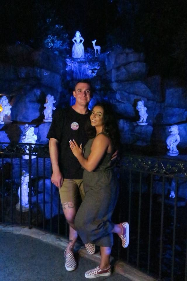 Where to Propose in Snow White's Wishing Well at Disneyland