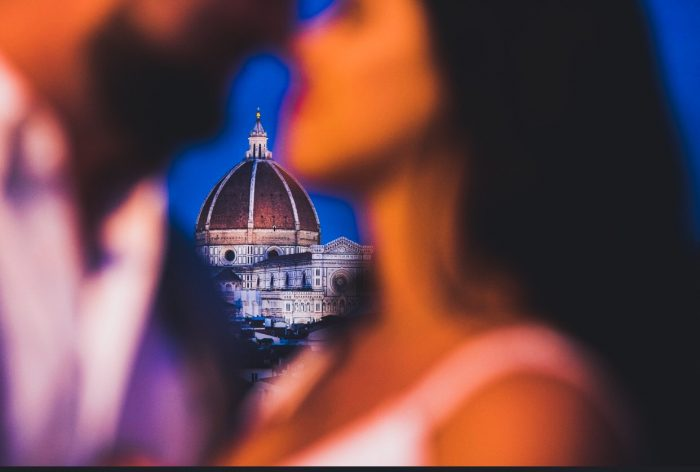 Raven and Alim's Engagement in Florence, Italy
