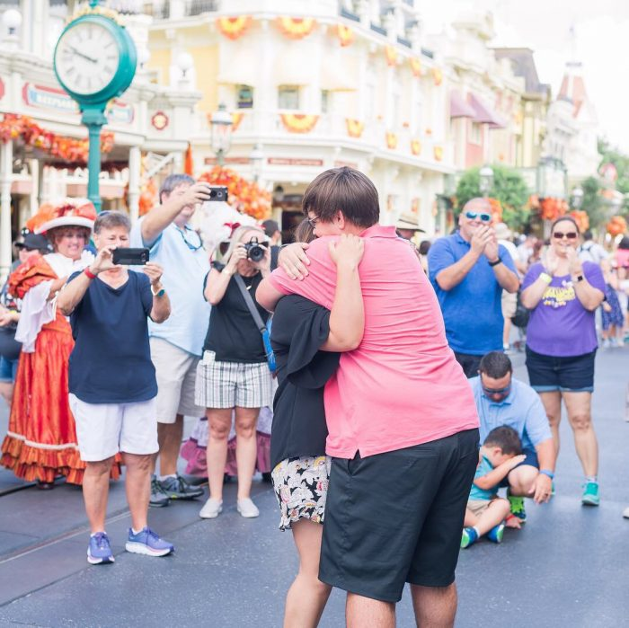 Kaylen and Caleb's Engagement in Walt Disney World's Magic Kingdom