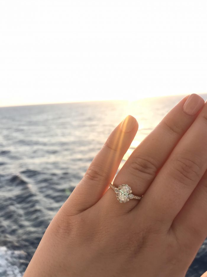 Marriage Proposal Ideas in On a Carnival Cruise in the middle of the Caribbean