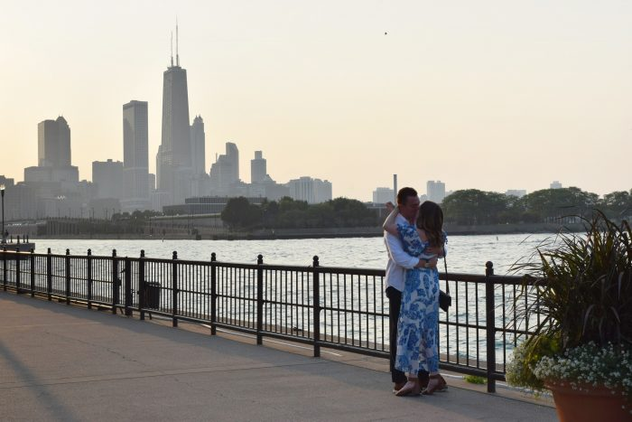 Where to Propose in Navy Pier in Chicago, Illinois