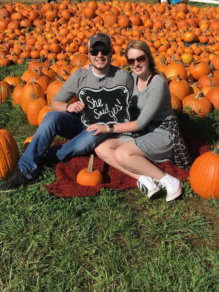 Briana's Proposal in Shucks Corn Maze and Pumpkin Patch