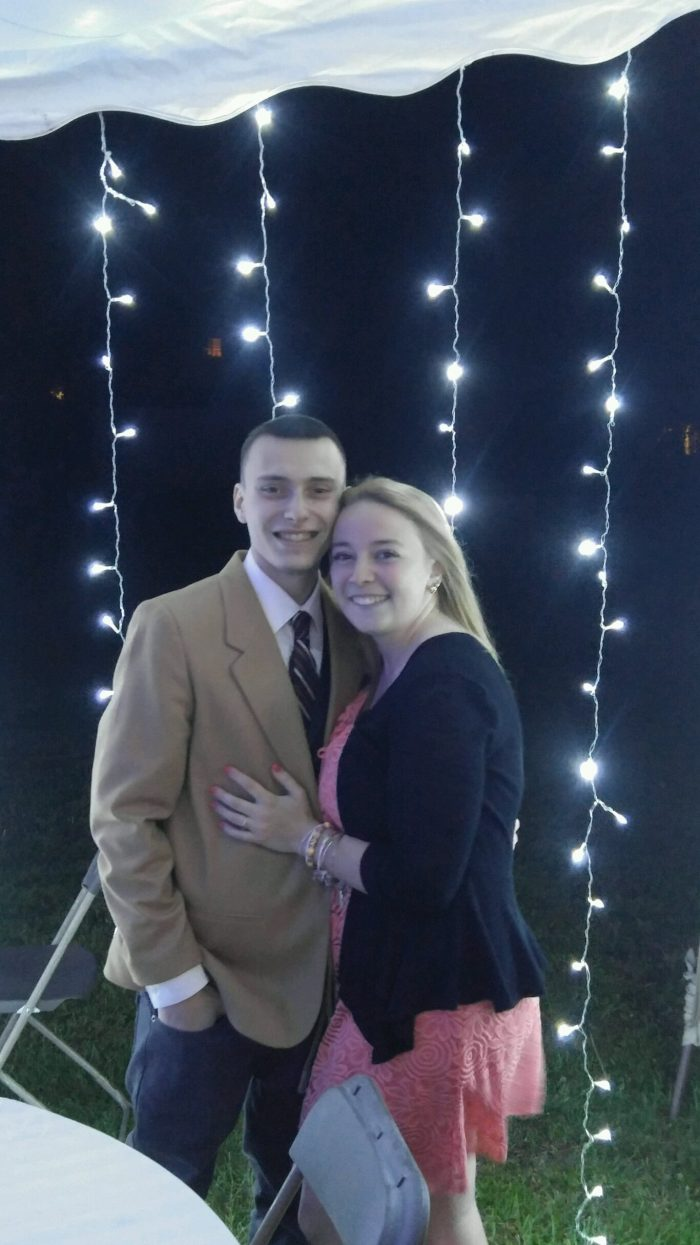 Kayla and Peyton's Engagement in Prime Steakhouse