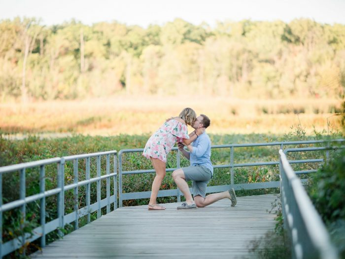 Wedding Proposal Ideas in East Grand Rapids Reeds Lake