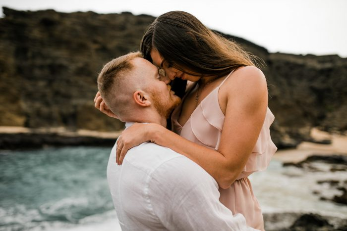 Jolie and Brian's Engagement in Waianae, Hawaii