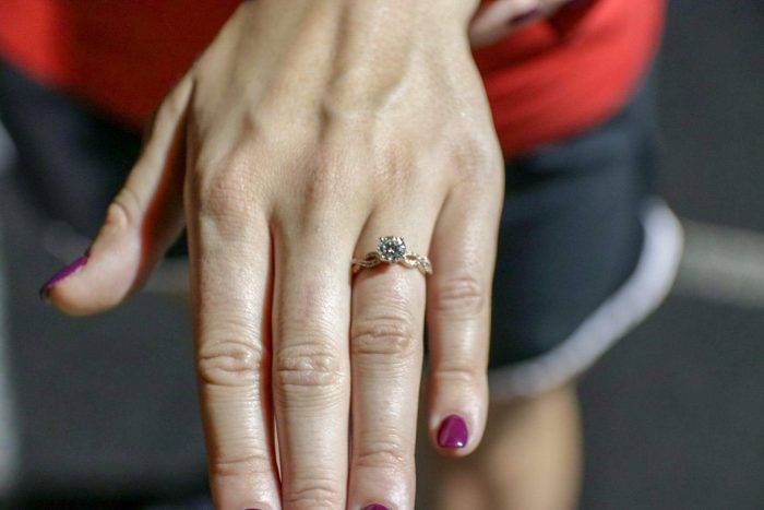 Engagement Proposal Ideas in West Middlesex High School after our Alma Mater's Homecoming Gam