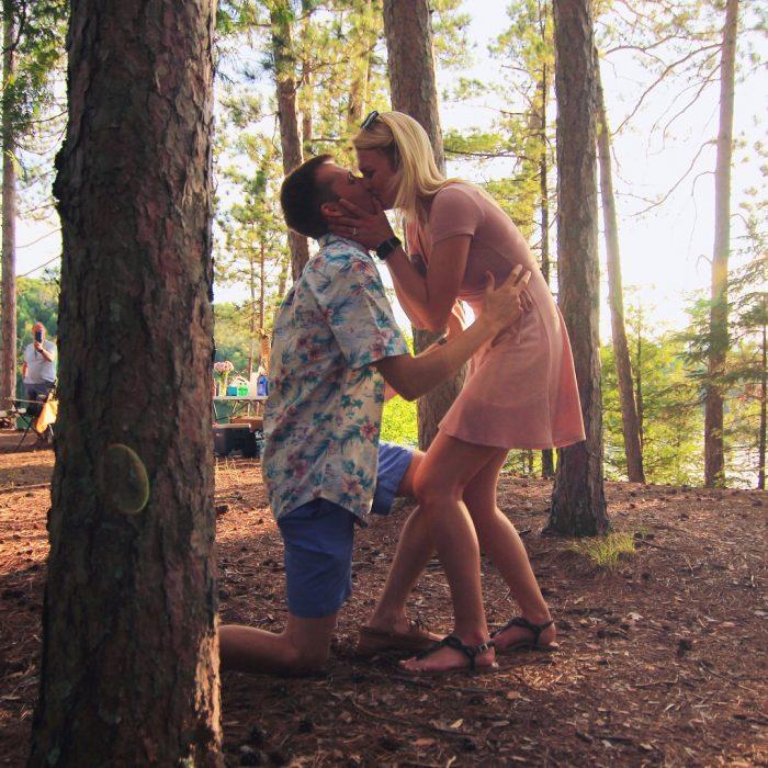 Wedding Proposal Ideas in Lake Tomahawk, Wisconsin
