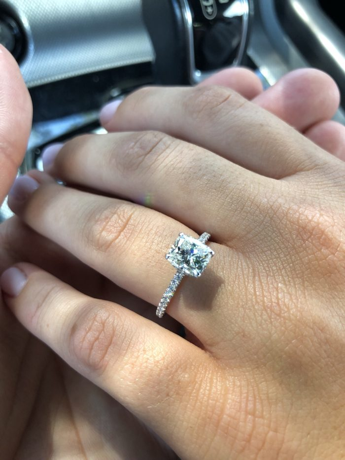 Samantha's Proposal in Florida, at the ringling brothers estate