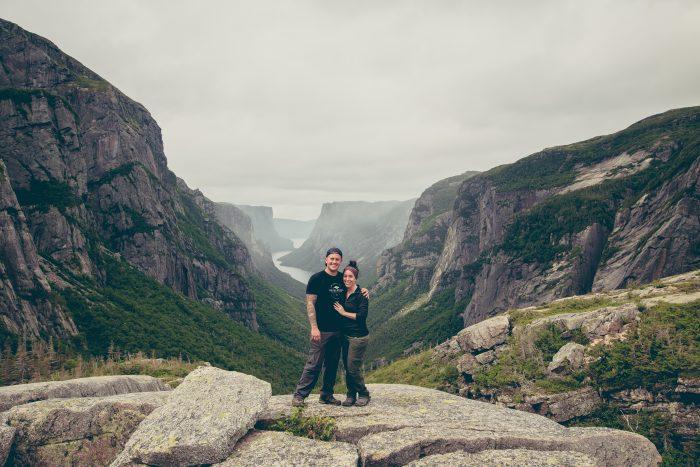 Wedding Proposal Ideas in Gros Morne National Park, Newfoundland, Canada